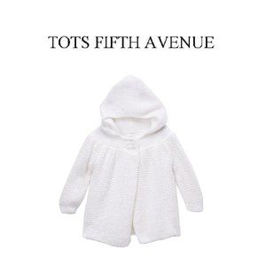 NWT Baby Knit Coat by Tots Fifth Avenue